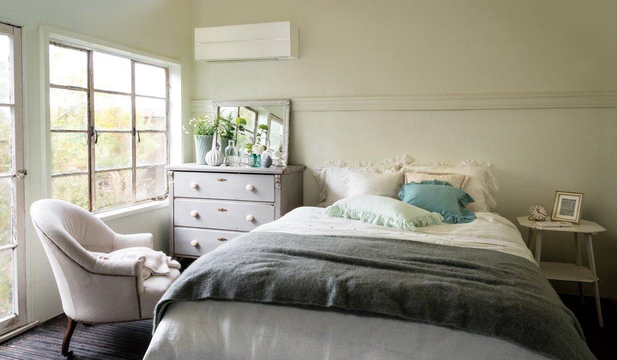 Как правильно выбрать модель кондиционера - спальня с кондиционером